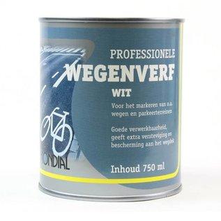 Mondial Wegenverf Wit 250ml / 750ml