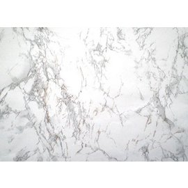 Marmorplatte Plastik Weiß 45cm x 2m