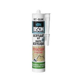 Bison Acrylic Texture White 310ml