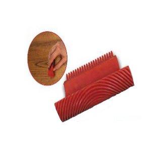 Wood Pattern Imitation Rubber 10cm / 15cm