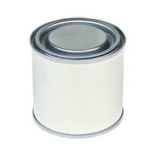 Farbdose kann mit Deckel 250ml