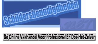 Schildersbenodigdheden .NET - Dé Online Vakhandel Voor Professional En Doe-Het-Zelver