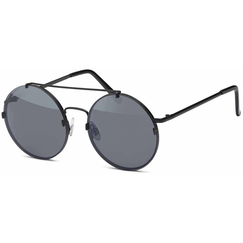 Ronde Design Zonnebril Zwart