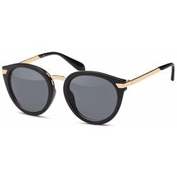 Sierlijke Zwarte Zonnebril
