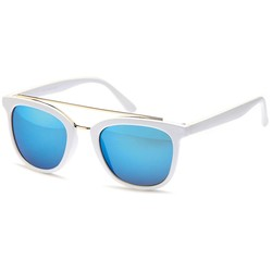 Blitse Zonnebril Wit/Blauw