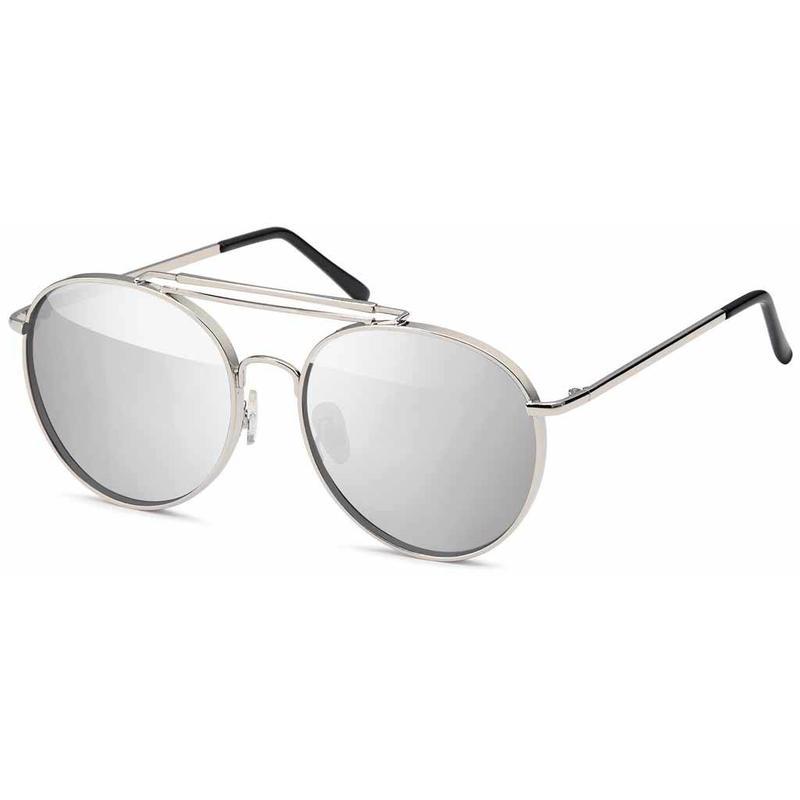 Moderne Piloten Zonnebril Spiegel