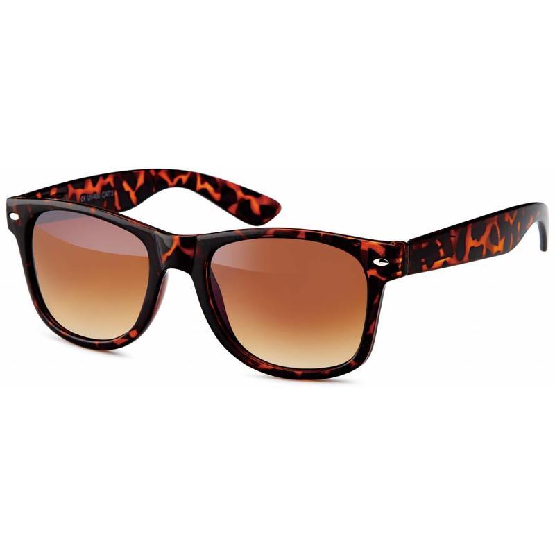 Wayfarer Leopard I Zonnebril