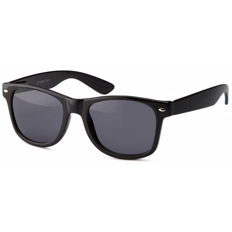 Zwarte Wayfarer Zonnebril