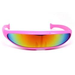 Snelle Planga Zonnebril Roze Rainbow