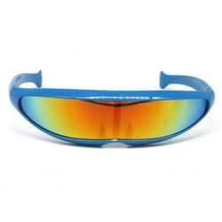 Snelle Planga Zonnebril Blauw Rainbow