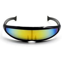 Snelle Planga Zonnebril Zwart