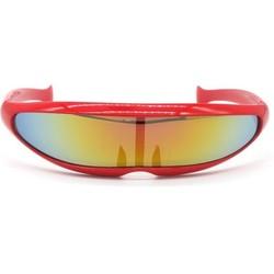 Snelle Planga Zonnebril Rood Rainbow