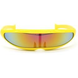 Snelle Planga Zonnebril Geel Rainbow
