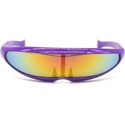 Snelle Planga Zonnebril Paars Rainbow