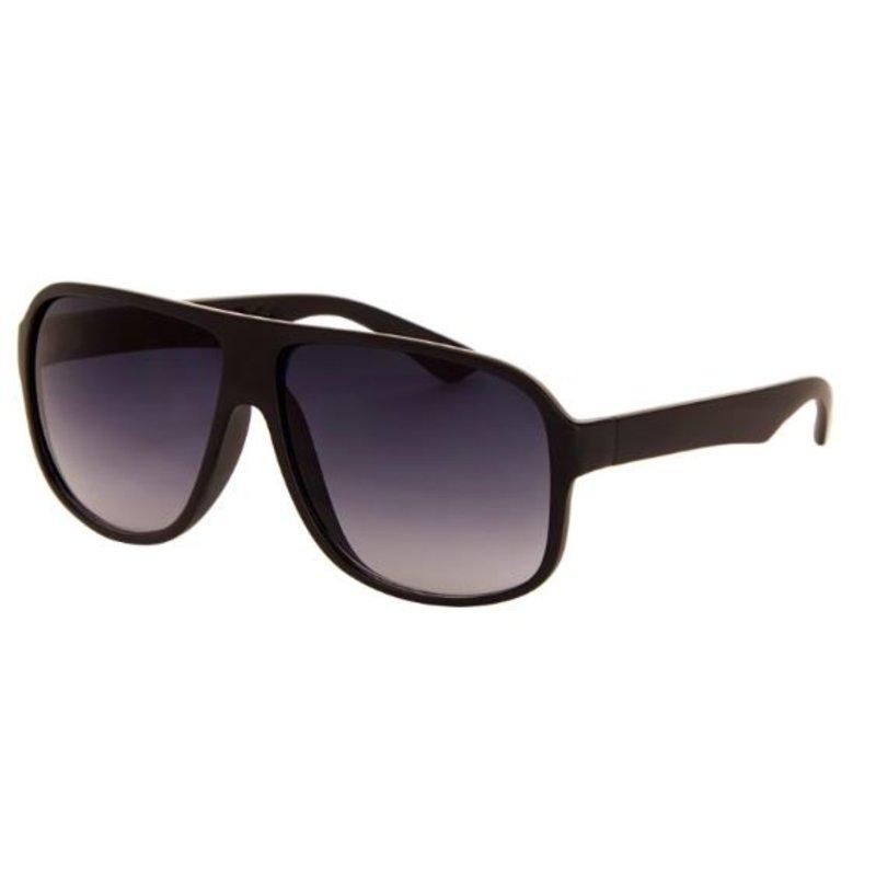 Casual rechthoekige zonnebril zwart