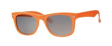 Oranje zonnebril op koningsdag