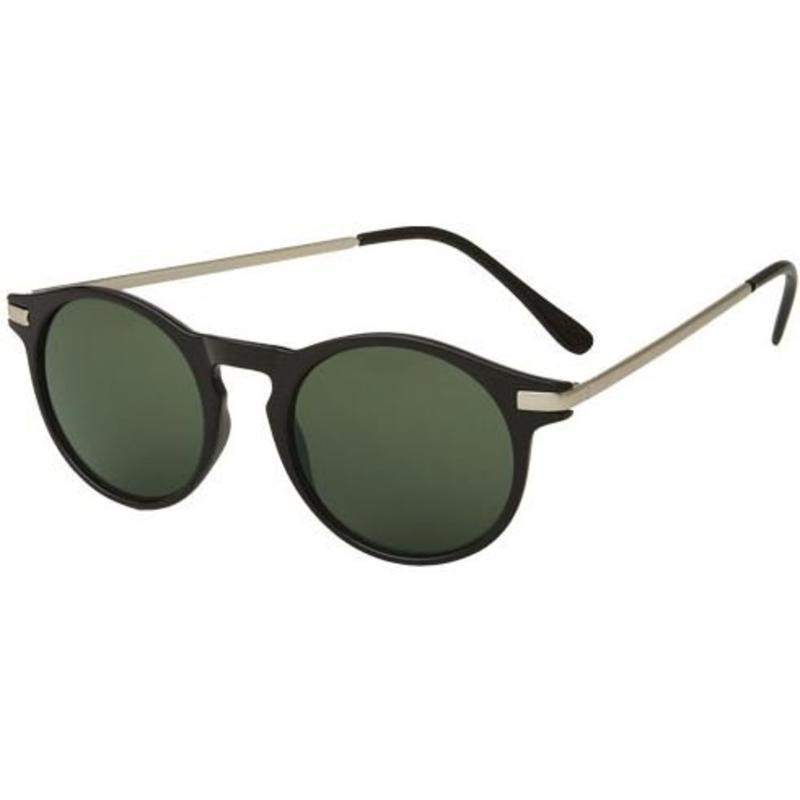 Vintage zwarte zonnebril