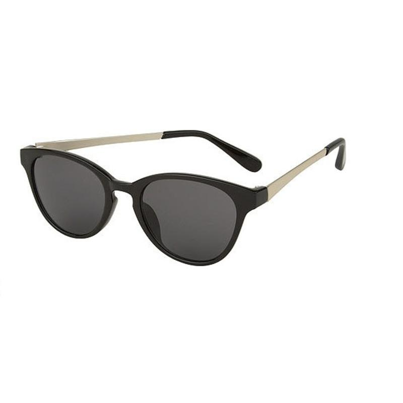 Hippe zwarte zonnebril
