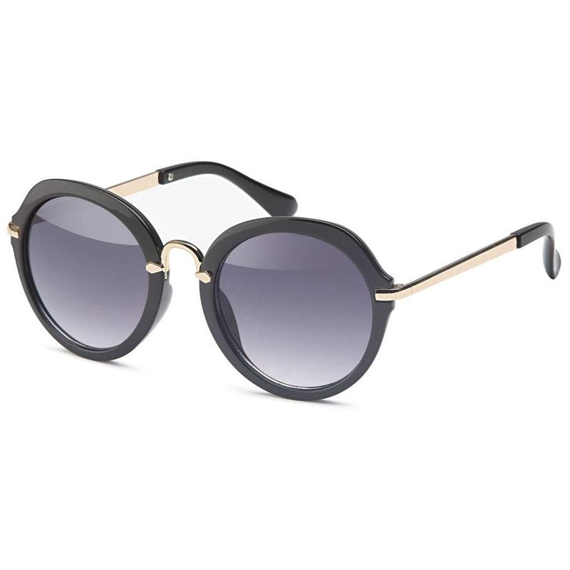 3a7aa5d754119c zwarte ronde dames zonnebril - Ronde zonnebrillen - Zonnebrillenking ...