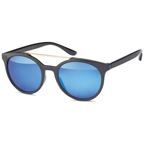 Bridge zonnebril blauw