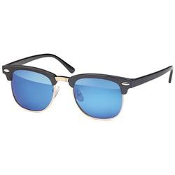 Blauwe kinder clubmaster zonnebril