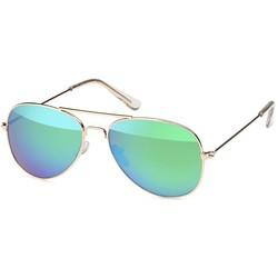 Groene Kinder Piloten Zonnebril