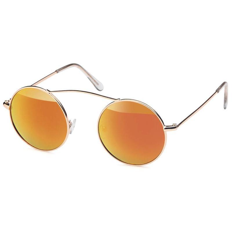 Ronde Festival Zonnebril Oranje