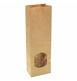 Vensterzakjes van kraftpapier