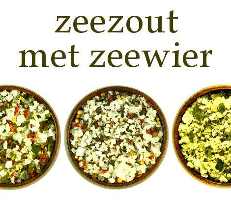 Nieuw online bij Kruidenmagazijn: zeezouten verrijkt met zeewier en specerijen