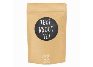 Krijtbord thee