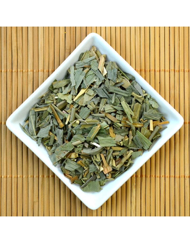 Bruur Bamboe blad gesneden voor kruidenthee