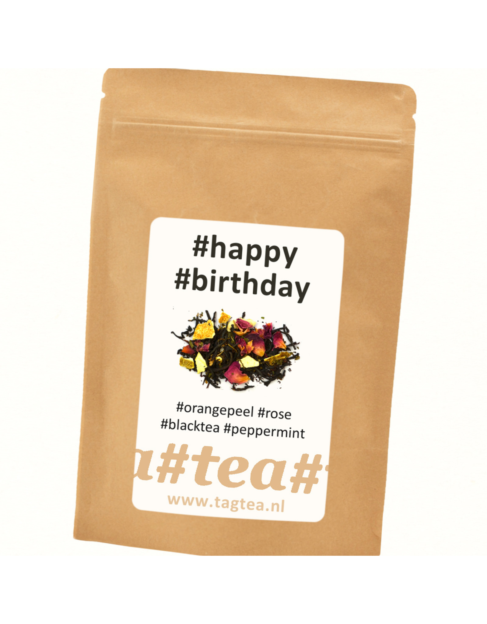 TagTea Happy Birthday thee melange
