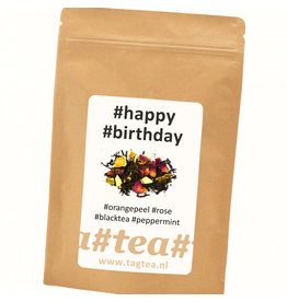 TagTea Happy Birthday thee