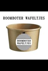 Bruur Roomboter Wafeltjes in kraft beker - Lekkers van Toen