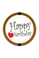 Happy Birthday beker met snoepjes naar keuze Nr1