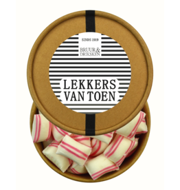 Bruur Pepermunt Kussentjes in kraft beker - Lekkers van Toen