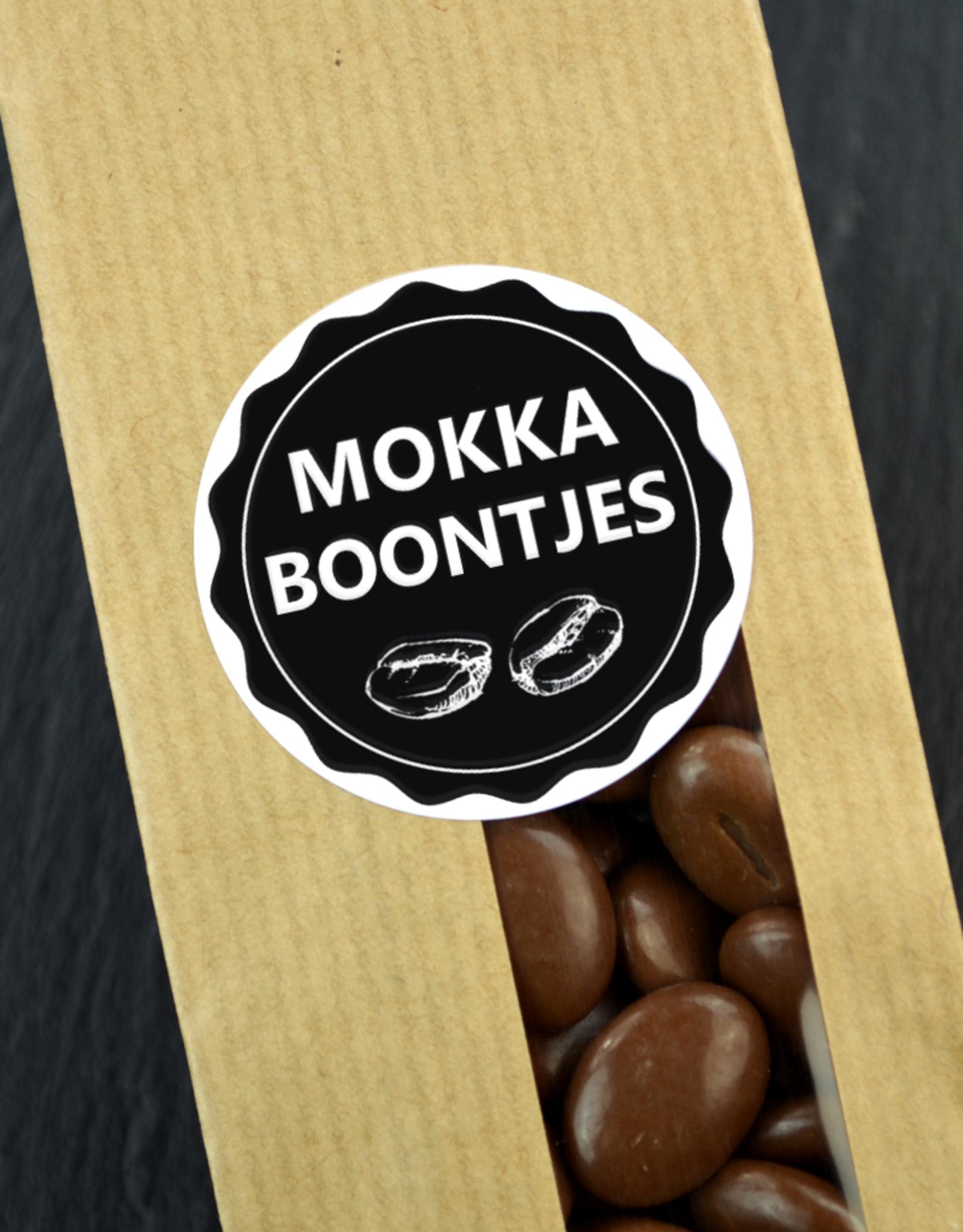 Mokka Boontjes van melk chocola - de echte