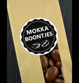 Mokka Boontjes melk chocolade