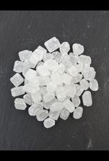 Bruur Witte kandij suiker grof in kraft zakje