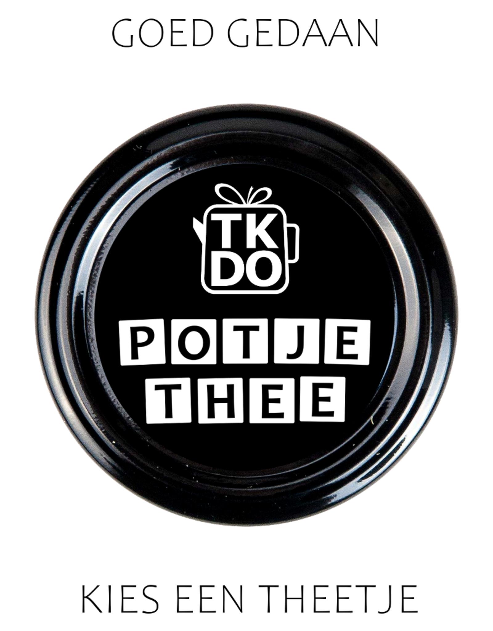 Goed Gedaan - Potje Thee naar keuze van TKDO
