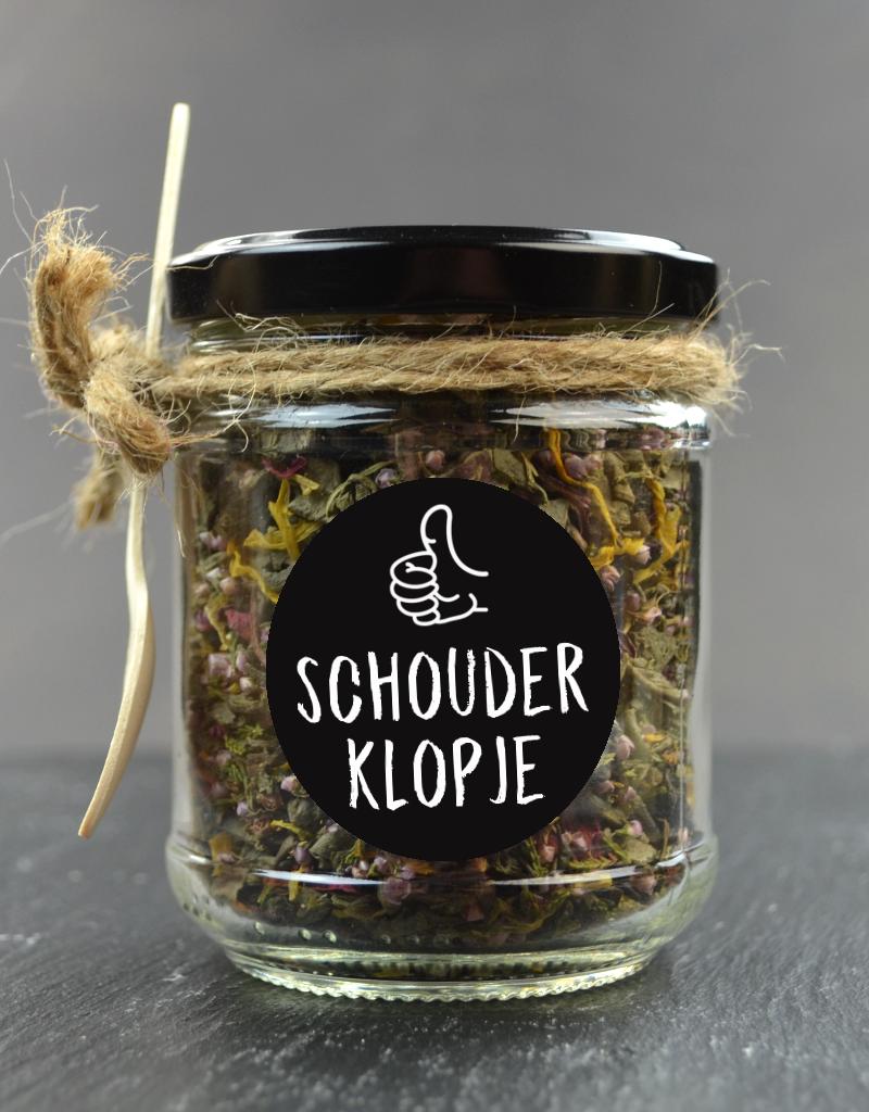 Schouder Klopje - Potje Thee naar keuze van TKDO