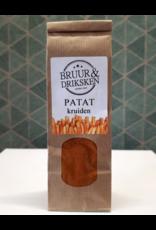 Bruur Ambachtelijke patatkruiden met weinig zout