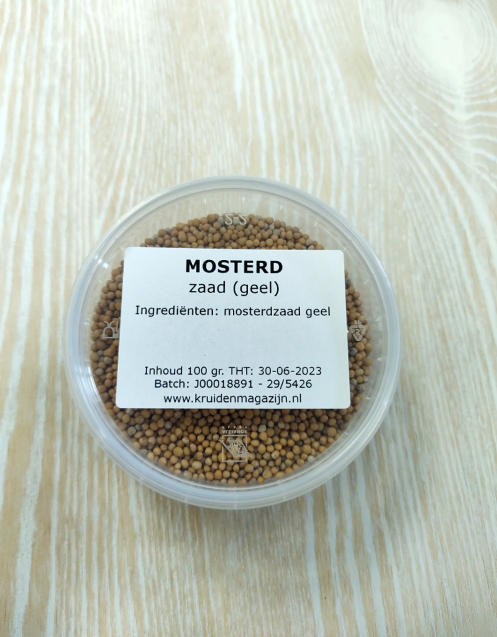 KM mosterdzaad (heel) in cup