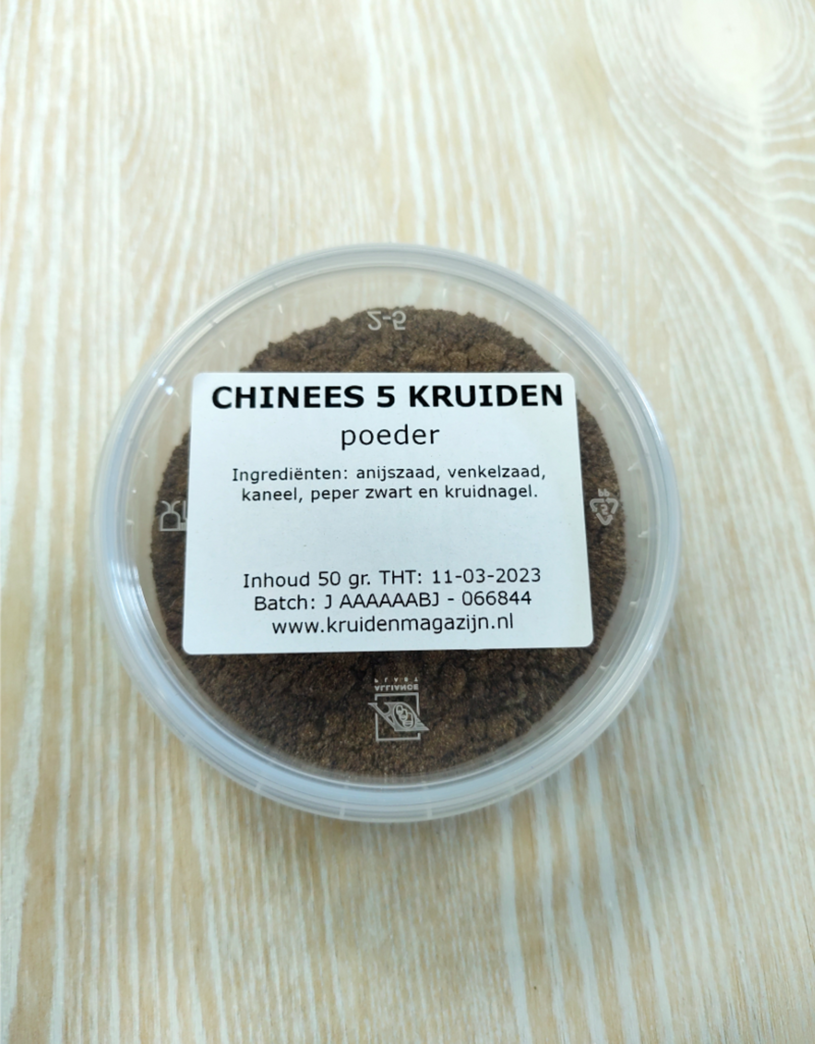 KM Chinees 5 kruiden poeder in cup