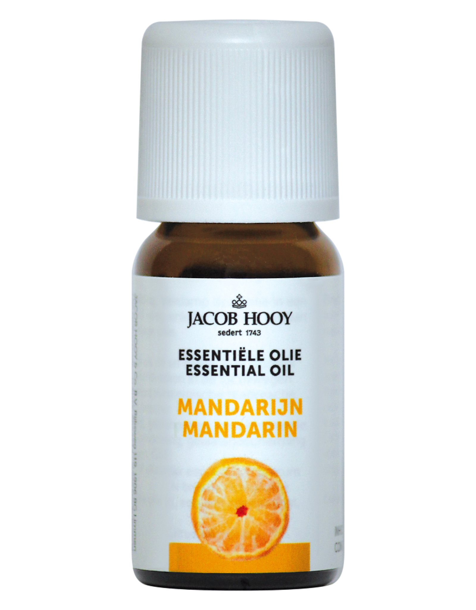 Mandarijn essentiële olie Jacob Hooy 10ml