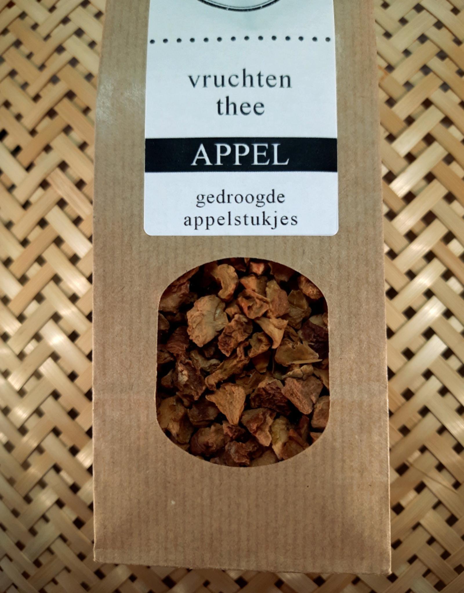 Bruur Appel stukjes voor vruchten thee