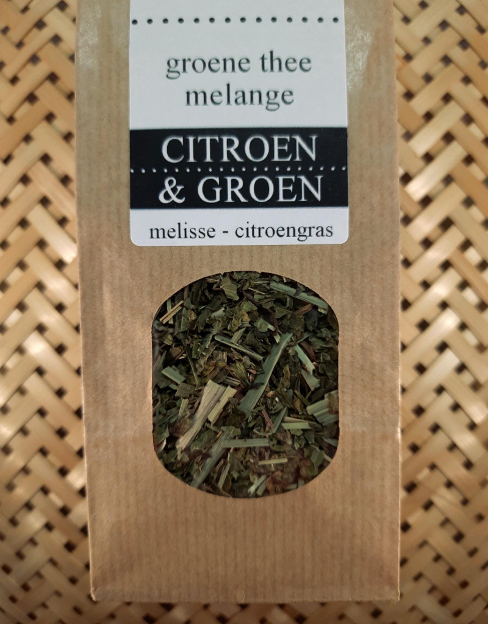 Citroen & Groen sencha melange