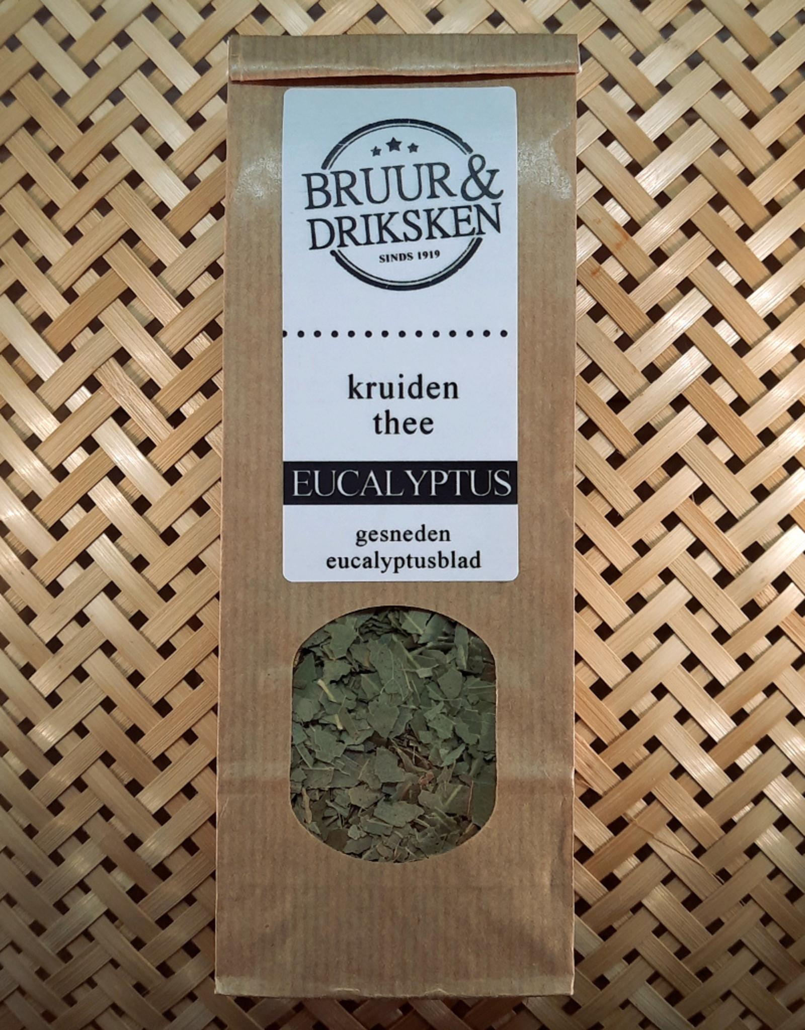 Bruur Eucalyptus blad voor kruidenthee