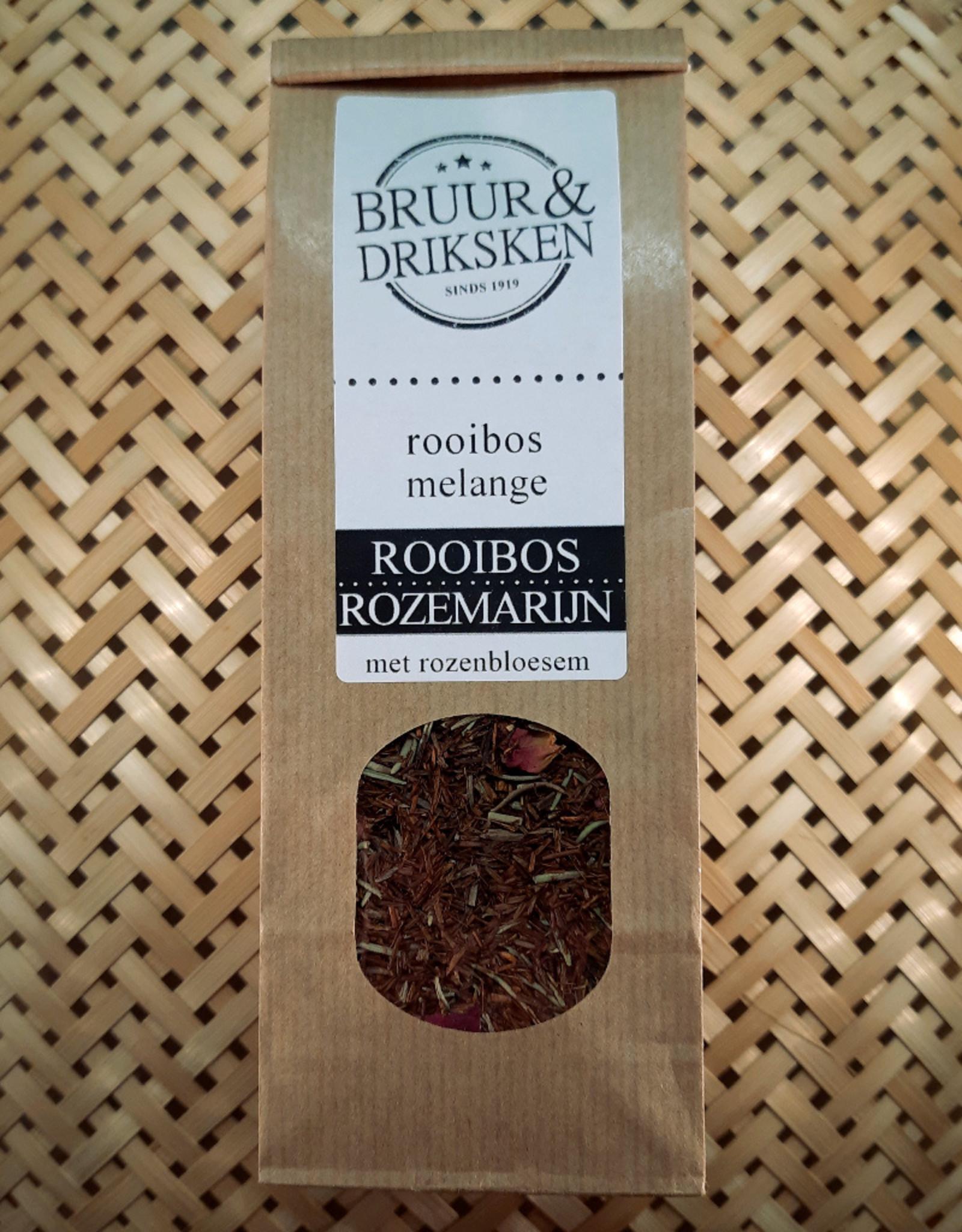 Bruur rooibos met rozemarijn