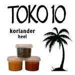 Toko10 koriander (heel)